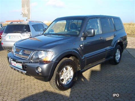 mitsubishi pickup 2005 2005 mitsubishi pajero 3 2 di d dakar car photo and specs