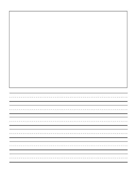 writing templates for 3rd grade lined writing paper for 3rd graders printable writing