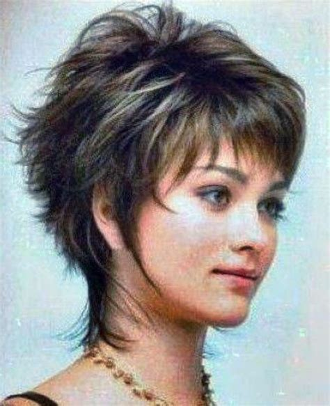 shaggy pixie haircuts over 60 heavy women hairstyles pixie cuts short shag haircuts