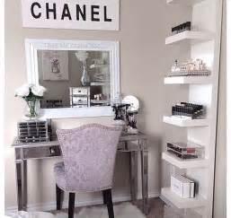 Makeup Desk Quote Coco Chanel Room