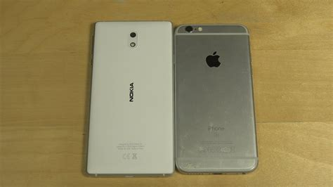 nokia 3 vs iphone 6s which is faster