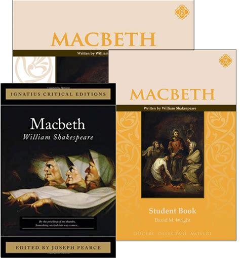 macbeth political themes macbeth set memoria press classical christian curriculum