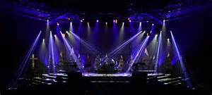 flowing trees church stage design ideas