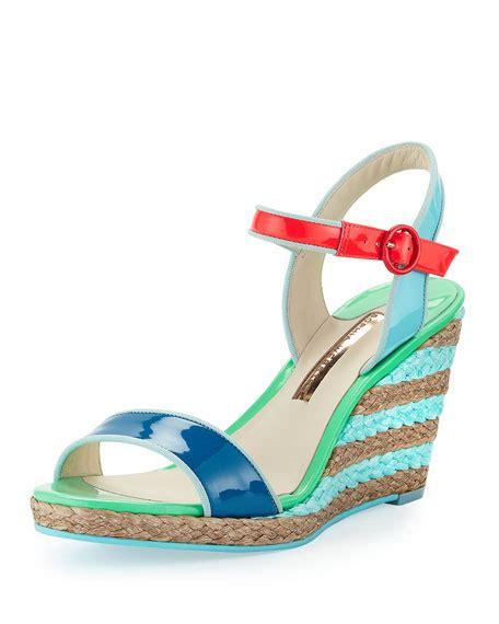 sandals bora bora webster lucita colorblock espadrille sandal bora bora