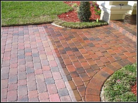 Paver Patio Sealer Install Paver Patio Steps Patios Home Decorating Ideas Ylx23q9x6o