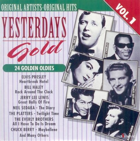 Cd 21 Golden Songs Vol1 various artists yesterdays gold 24 golden oldies 25 cd at odimusic