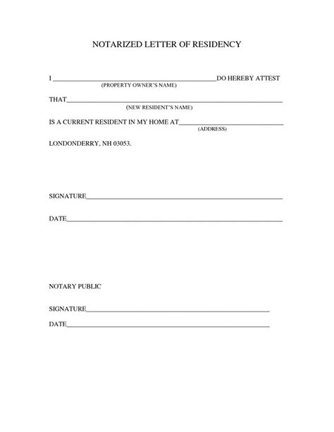 sle notarized letter template projects to try