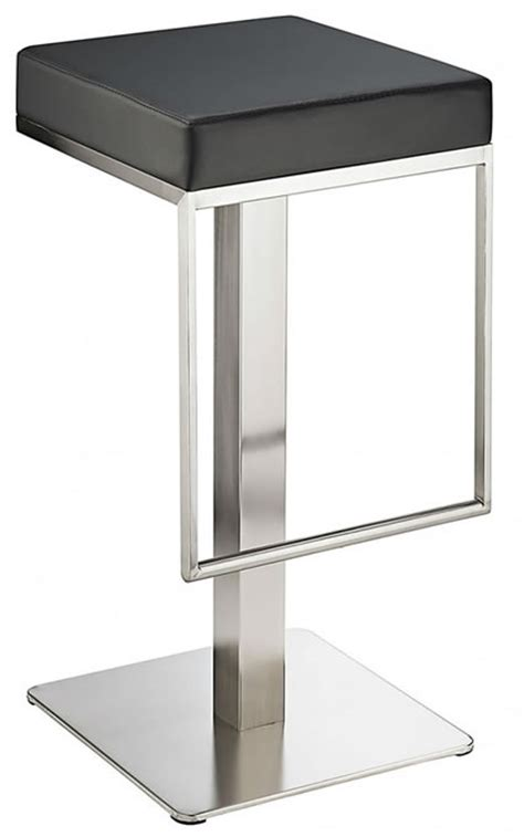 Floor Fixed Bar Stools by Fixed Height Kitchen Bar Stools Wooden Chrome Satin