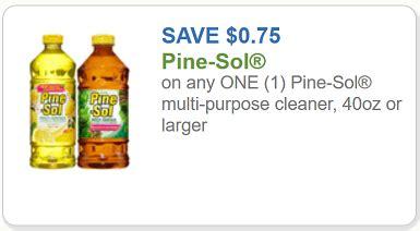pine sol coupon $0.75 off one pine sol multi purpose