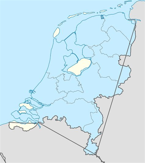 netherlands location in map the netherlands map map3