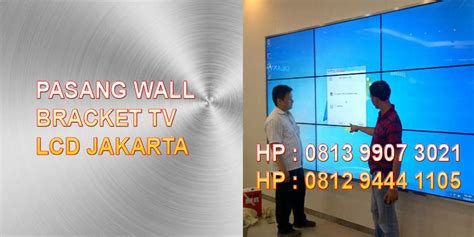Bracket Wall Display Murah pemasangan wall bracket lcd jual standing bracket