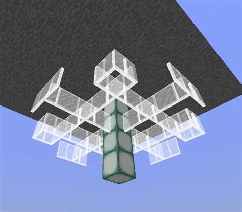 kronleuchter in minecraft chandelier tutorial minecraft amino
