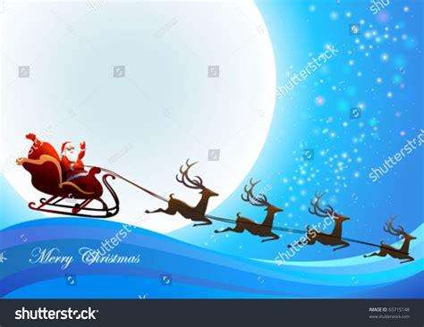 Santa Claus Coming santa claus is coming to town stock vector illustration