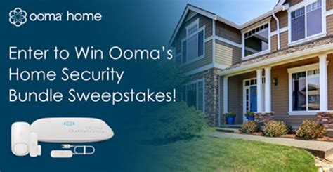 ooma s home security bundle giveaway
