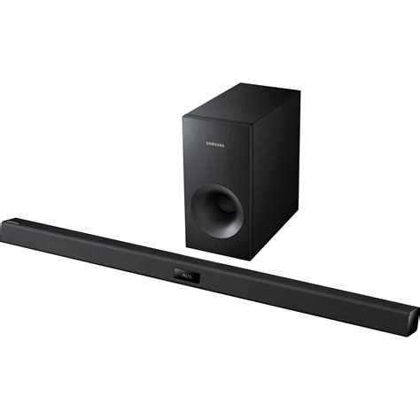 samsung hw f355 2 1 channel sound bar system with wired hw f355