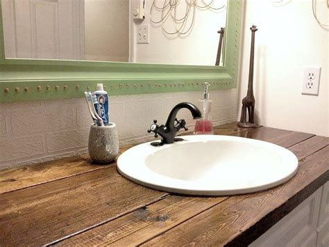 bathroom vanity top ideas best 25 bathroom vanity tops ideas on pinterest diy