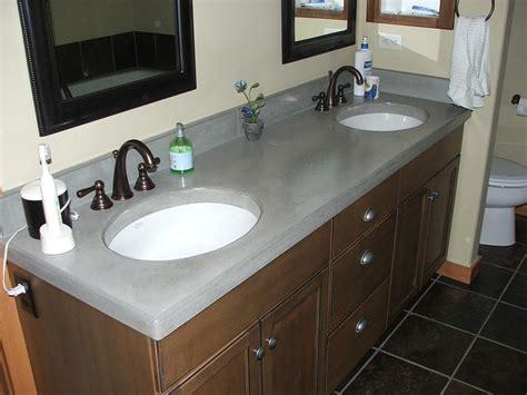 concrete bathroom countertop bath modacrete