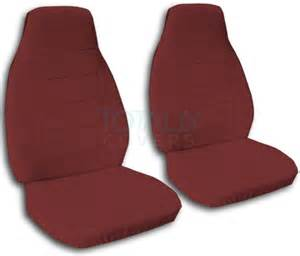 Seat Cover Color For Car Solid Color Car Seat Covers Front Semi Custom Black