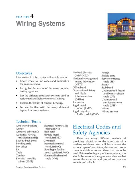 generous different types of wiring systems pictures