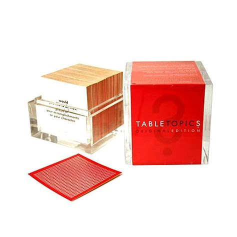 table topics couples to bring back fizzled slide 4
