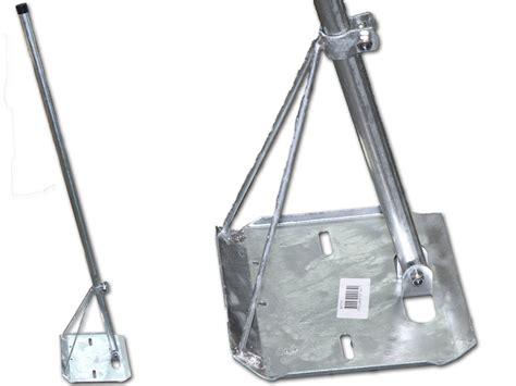 tripod tv antenna roof mount  tin roofs