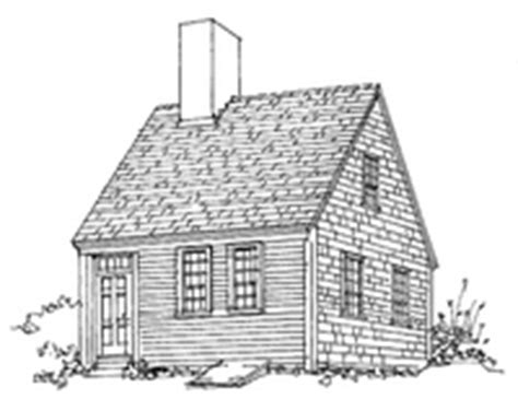 half cape house plans the original cape cod cottage old house online