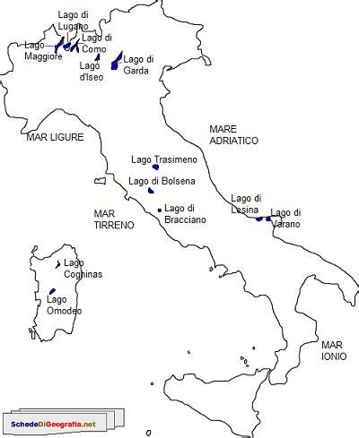 i principali laghi italiani   storia e geografia