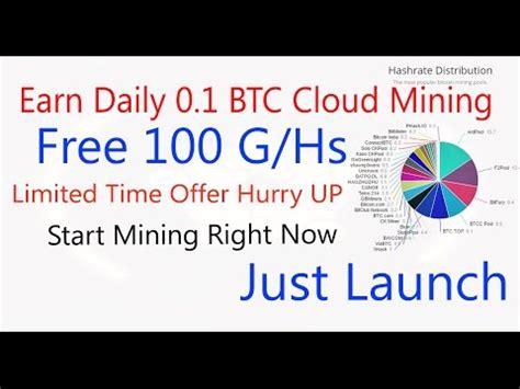 Bitcoin Cloud Miner Earn Btc by Earn Daily 0 1 Btc Vixice Earn Bitcoin From Cloud