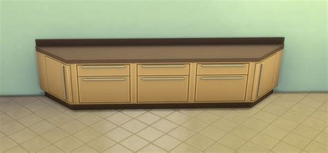 Counter Cabinet by The Sims 4 Building Counters Cabinets And Islands