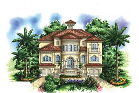 mediterranean beach house plans beautiful two story house 3 story mediterranean house