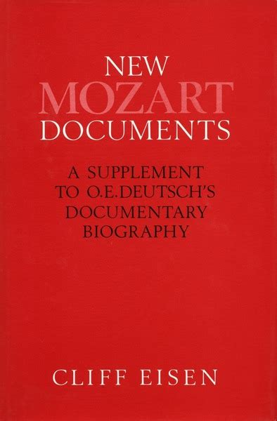 mozart documentary biography cite new mozart documents a supplement to o e deutsch s