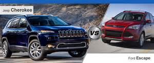 Jeep Vs Ford Escape 2014 Jeep Vs 2014 Ford Escape Roanoke Va
