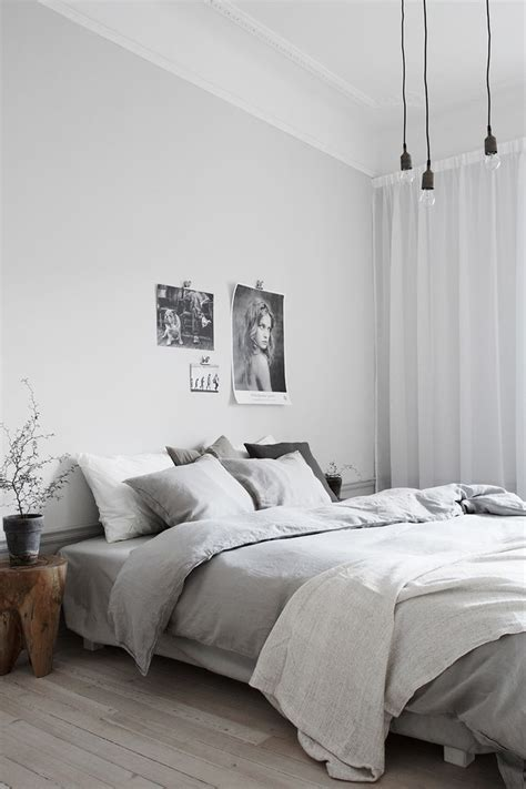 light gray bedrooms retro bedrooms modern minimalist and white bedside