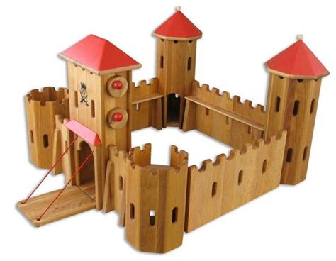 simple wooden castle plans ideas photo home building