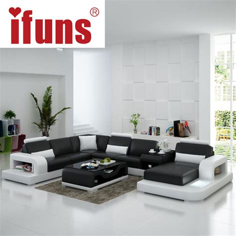 modern u shaped sectional sofa aliexpress com buy ifuns modern design u shaped quality