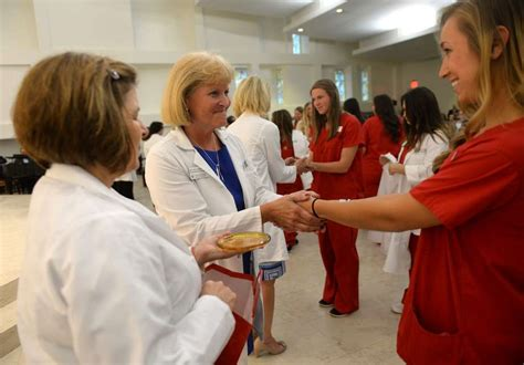 nursing students blessed at sacred connecticut post