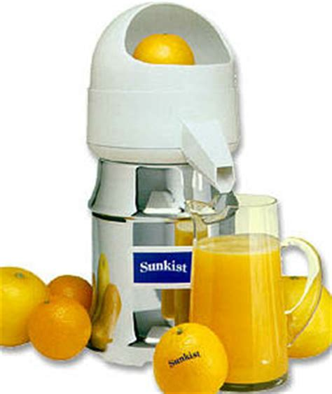 sunkist commercial citrus juicer j 1 type 8 fruit