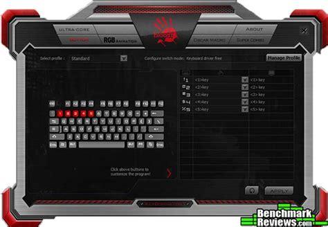 Keyboard Bloody B840 bloody b840 key dominator