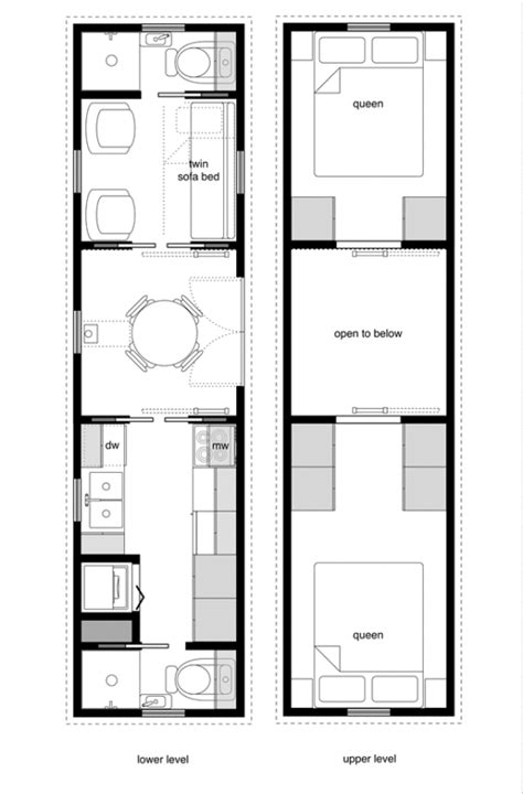 top tiny houses floor plans tiny house on wheels floor plans trailer effective and
