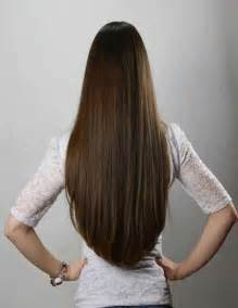Long brown hair from the back short hair fashions