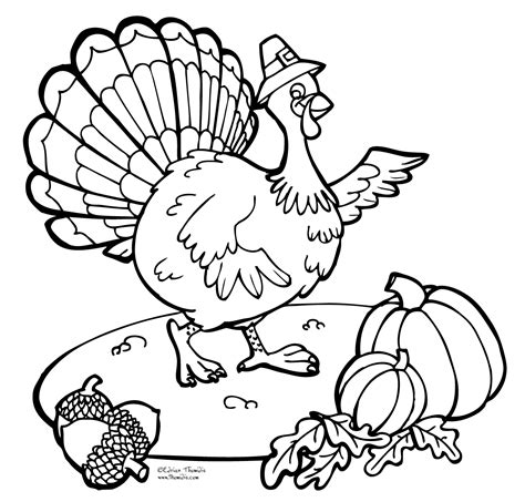 thanksgiving coloring pages free printable pictures