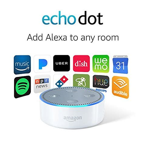 echo dot 2nd generation alexa enabled bluetooth speaker black amazon echo dot 2nd generation