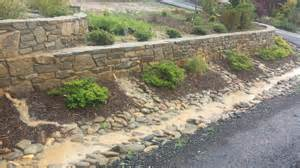 garden wall drainage solutions garden xcyyxh com
