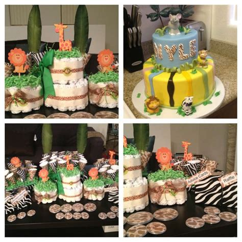 Baby Shower Arts And Crafts by Jungle Theme Baby Shower Handmade Arts And Crafts
