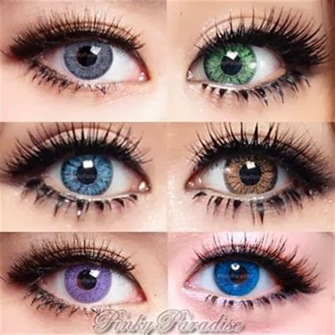 pinky paradise color contacts {giveaway} closed dandy