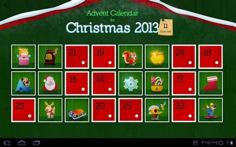 advent calendar 2013 widget android apps on google play