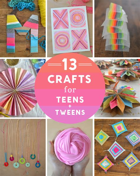 christmas craft ideas for teens 14 crafts for and tweens artbar