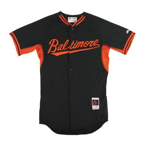 black jersey baltimore orioles majestic black bp cool base authentic