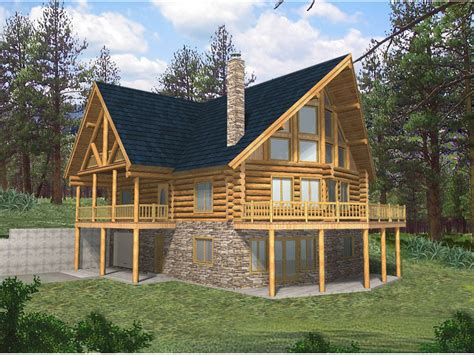 albuquerque rustic lake home plan 088d 0014 house plans