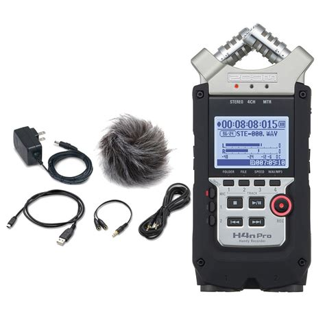 zoom h4n pro handy recorder with accessory pack at gear4music